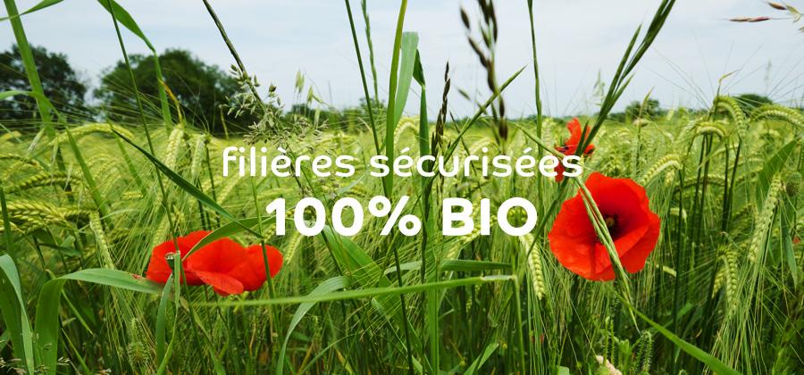 Agribio Union, coopérative biologique : filières sécurisées 100% bio