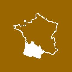 Les territoires d'Agribio Union, producteur de soja bio