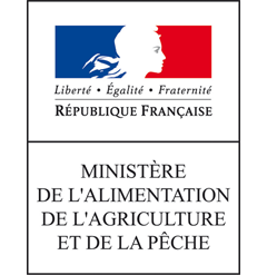 The partners of Agribio Union, organic grain producer: French Ministry of Agriculture