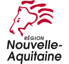 The partners of Agribio Union, organic grain producer: Nouvelle-Aquitaine regional authority