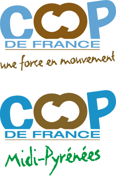The partners of Agribio Union, organic grain producer: Coop de France